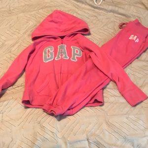 Girls Gap sweat outfit